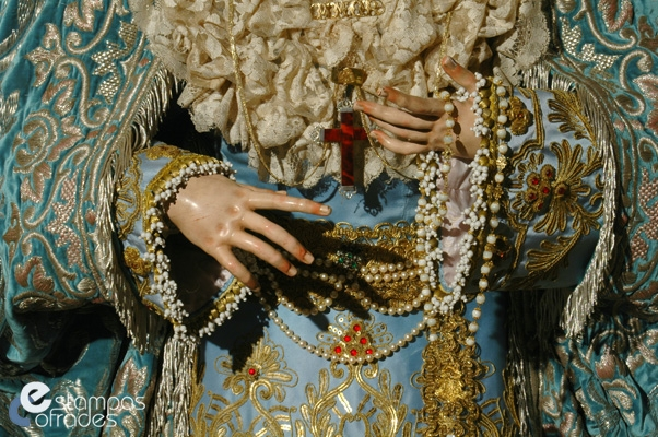 Besamano M Stma del Amor - Malaga - Estampas Cofrades (4)
