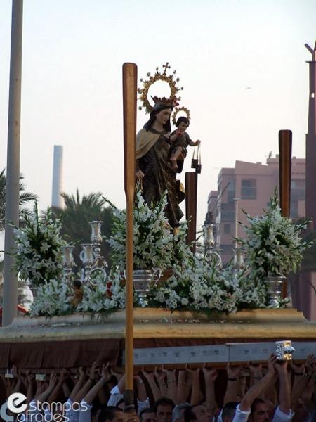 Salida Virgen del Carmen Huelin